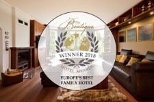 Europe s Best Family Hotel Ocenění